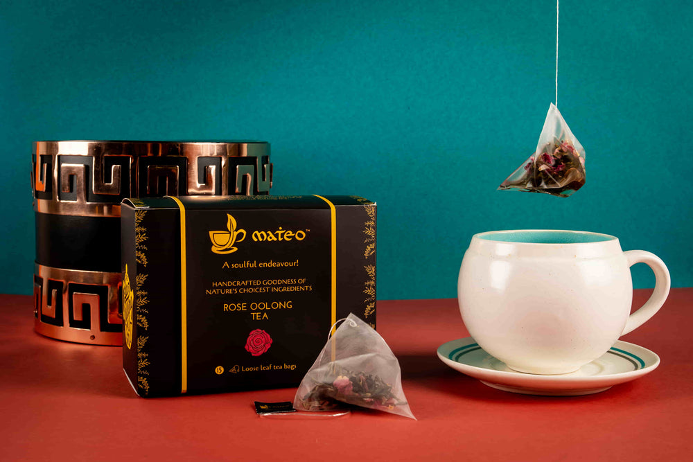 Load image into Gallery viewer, Rose Oolong Tea - Mateo tea