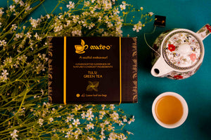 Load image into Gallery viewer, Tulsi Green Tea - Mateo tea