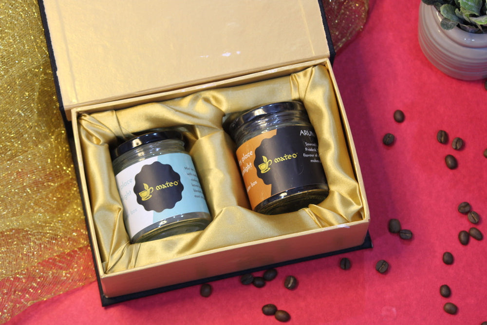 Gift Box -  2 Jars of loose leaf tea - Mateo tea