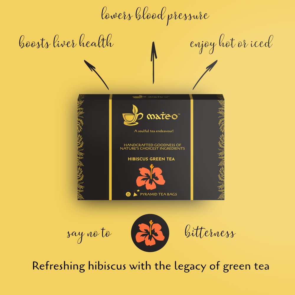 Load image into Gallery viewer, HIbiscus Green Tea - Mateo tea