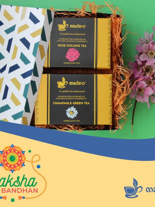 Gift Box -  2 Packs of loose leaf tea