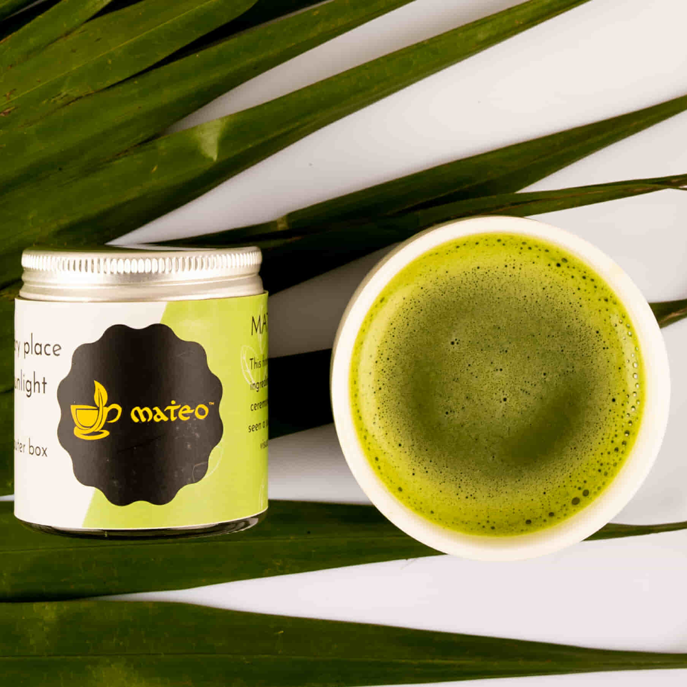 Japanese Matcha Green Tea - Mateo tea