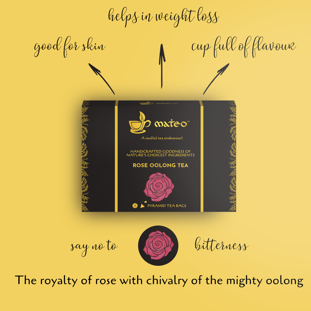 Rose Oolong Tea - Mateo tea