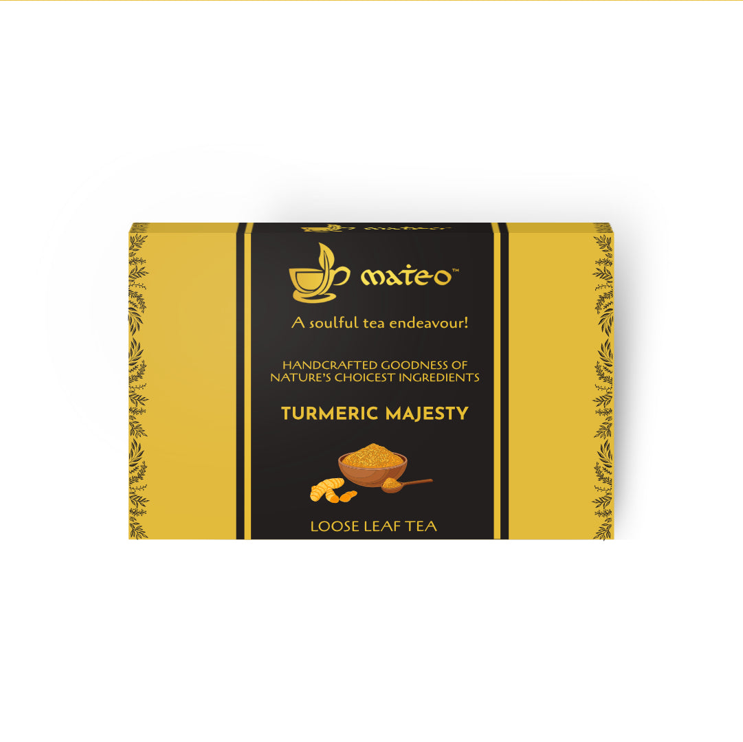 Turmeric Majesty - Mateo tea