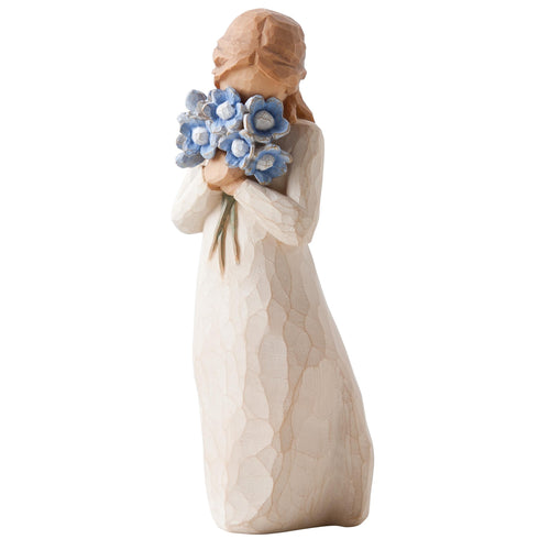 Willow Tree Figur - Forget me not - Vergiss mich nicht
