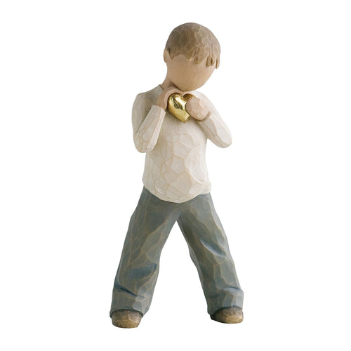 Willow Tree Figur - Heart of Gold Boy - Herz aus Gold Junge