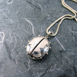 Ladybug Dotted Locket Sterling Silver
