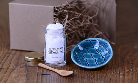 2 oz SeaSalt + Pottery Cellar Gift Set - Sold Out!