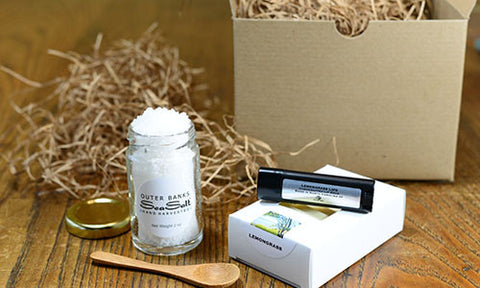 A Salty Soap Gift Set - Lemongrass