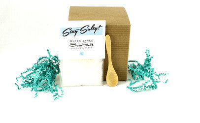 Boxed Gift Set {1 oz SeaSalt + Wooden Spoon}