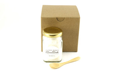 Boxed Gift Set {4 oz SeaSalt + Wooden Spoon}