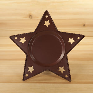 Candle Pan | Star Burgundy