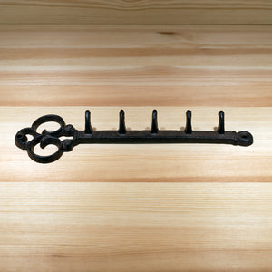 Key Shaped Key Rack | Brown