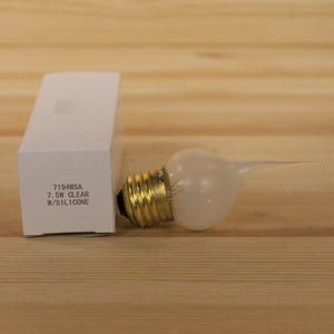 Silicone Dipped Bulb | Clear Large