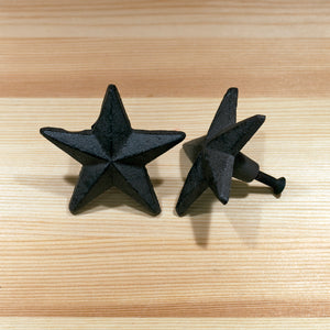 Star Knobs | Brown