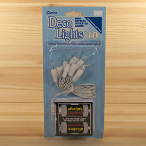Battery String Light | 10 Mini Clear Bulbs