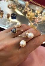Load image into Gallery viewer, Adjustable Pearl Ring