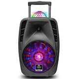 iDance Groove 216 100 Watt Rechargeable PA Bluetooth Party System