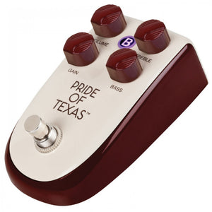 Billionaire 'Pride of Texas' Overdrive Pedal by Danlectro