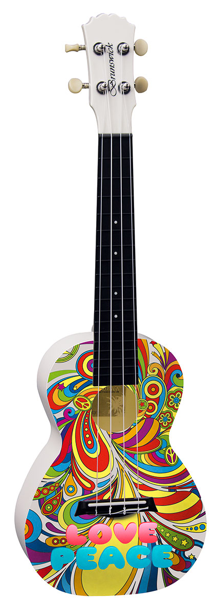 Colourful Design Concert Ukulele