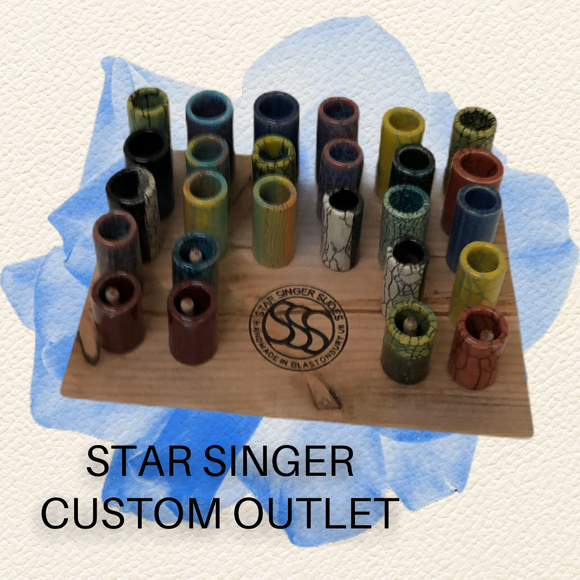 Star Singer Slides - Custom ceramic slides made by Star Singer Slides