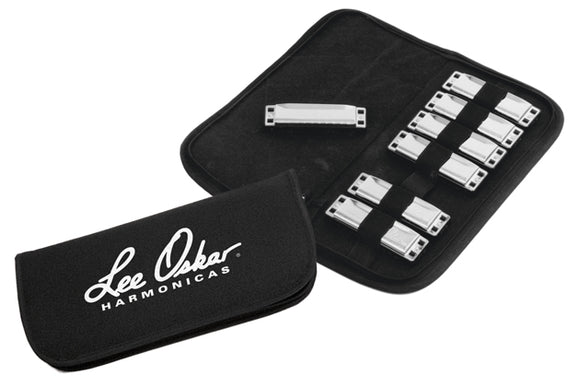 Lee Oskar Harmonica Soft Case for 7 Harps
