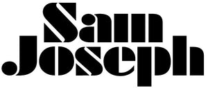 Sam Joseph black and white logo