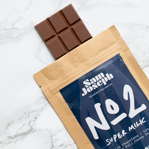 No2 | Super Milk | 50% - Sam Joseph Chocolates