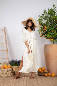 Saint Barth Coconut Halo Dress