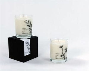 100 % bio soy wax X-mas candle,  scented candle Cedar and Clove