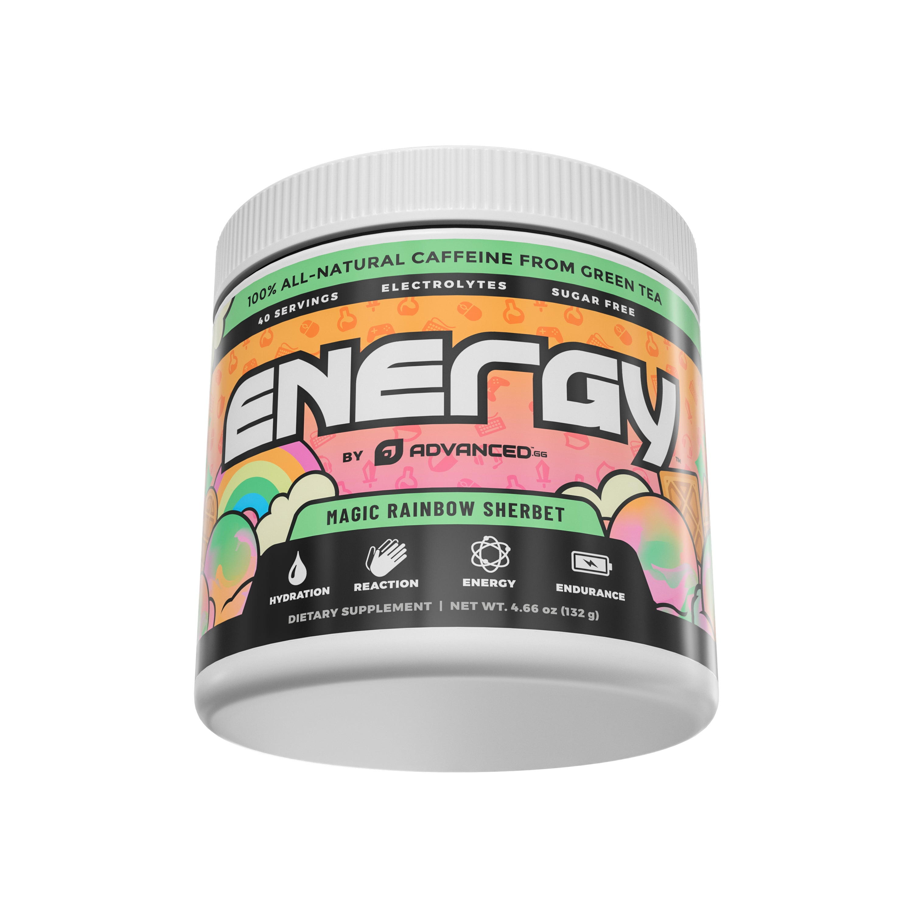 ENERGY – MAGIC RAINBOW SHERBET – JAR