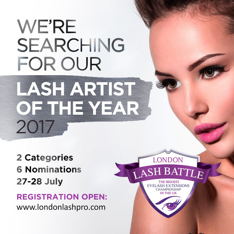 LONDON LASH BATTLE 2017 - THE BIGGEST EYELASH CHAMPIONSHIP IN UK