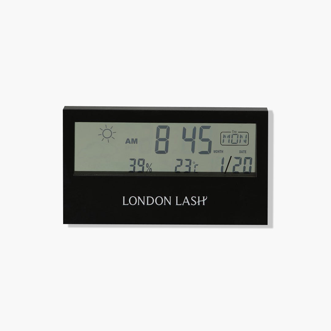 DIGITAL HYGROMETER, DIGITALTHERMOMETER, best eyelash extension supplier, lash extension supplies, eyelash supplies, eyelash extensions pre treatment, pre treatment lash extensions, lash treatment,