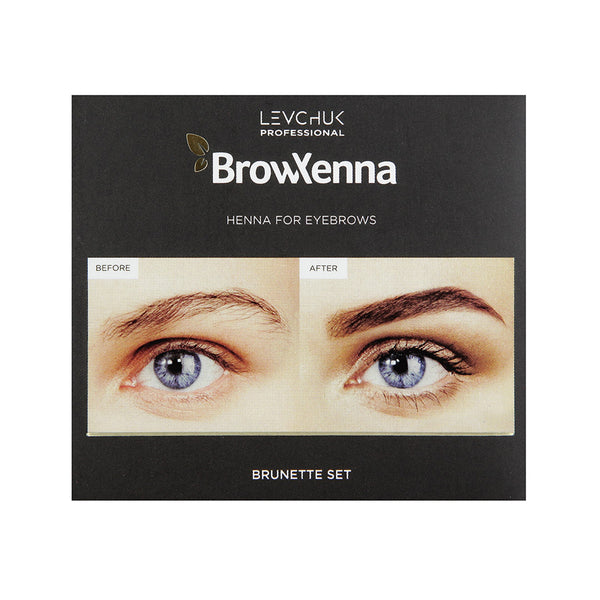 Bh brow henna set blonde brunette 3 colors products for Spa uniform norge
