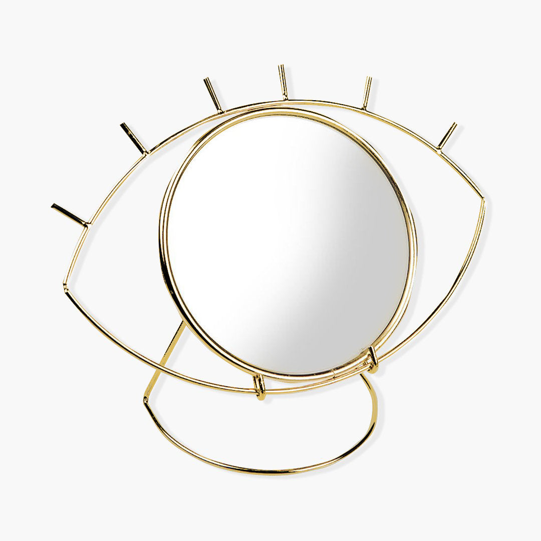 Eye Shaped Mirror