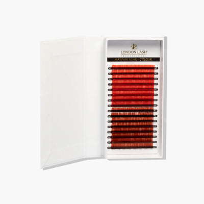 Red/ Red Brown Mayfair Lashes