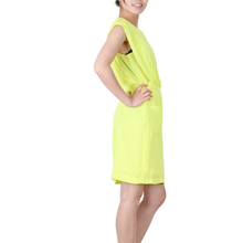Load image into Gallery viewer, Urban Diction Yellow Sleeveless Fluorescent Summer Dress