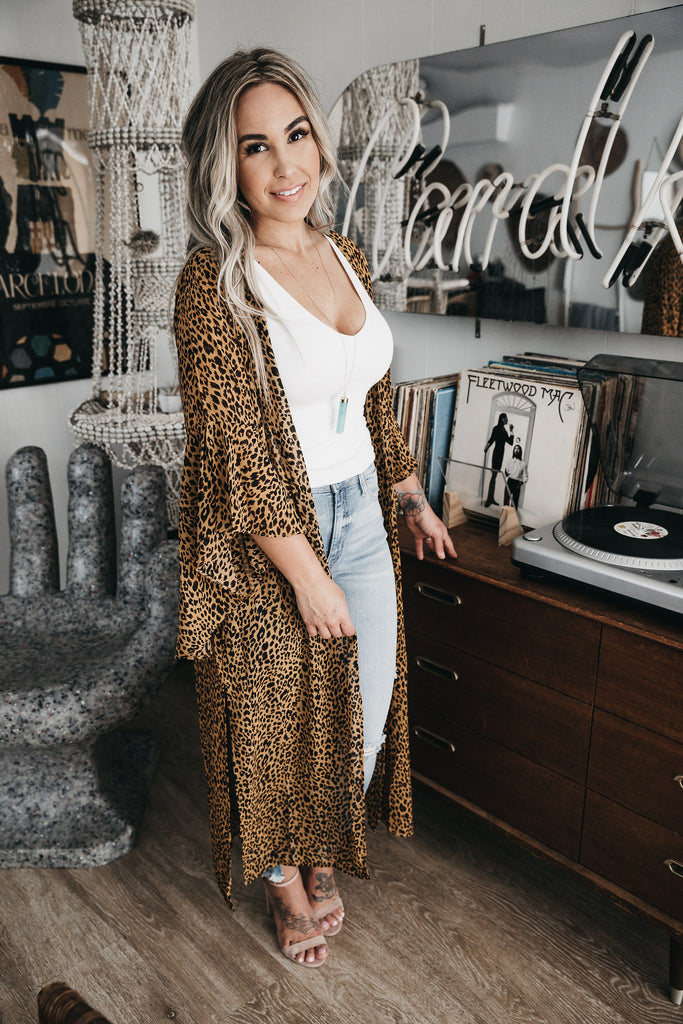 Animal Style Cardigan