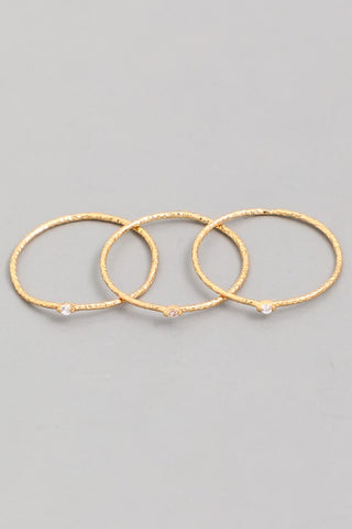 Gold Metal Bar Bracelet
