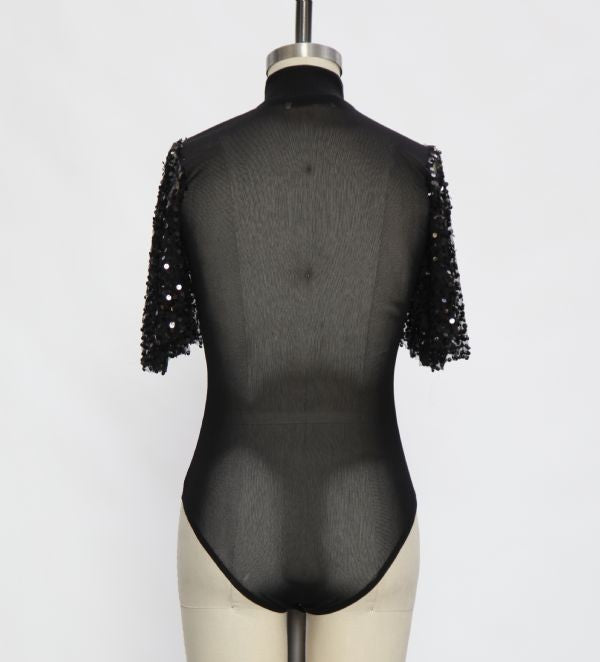 Step It Up Sequin Bodysuit