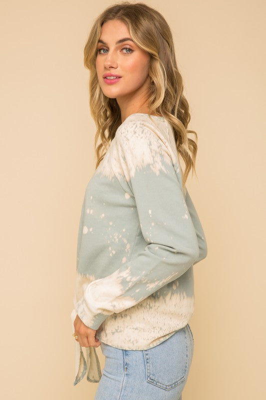The Falls Tie Dye Top