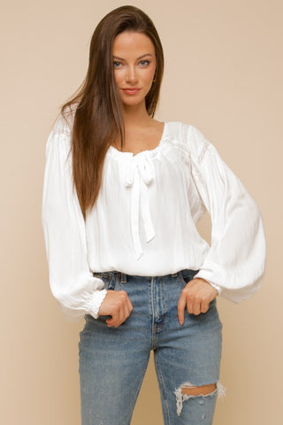 Always Ready Blouse Off White