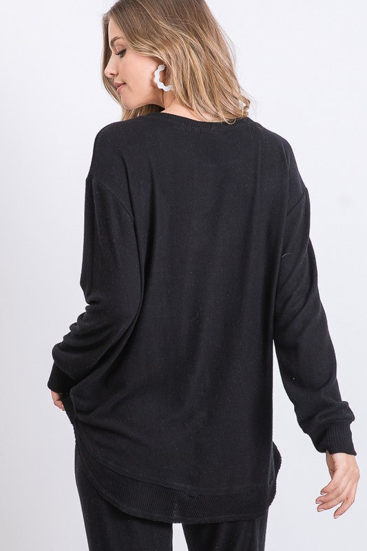 Softer Side Tunic Black
