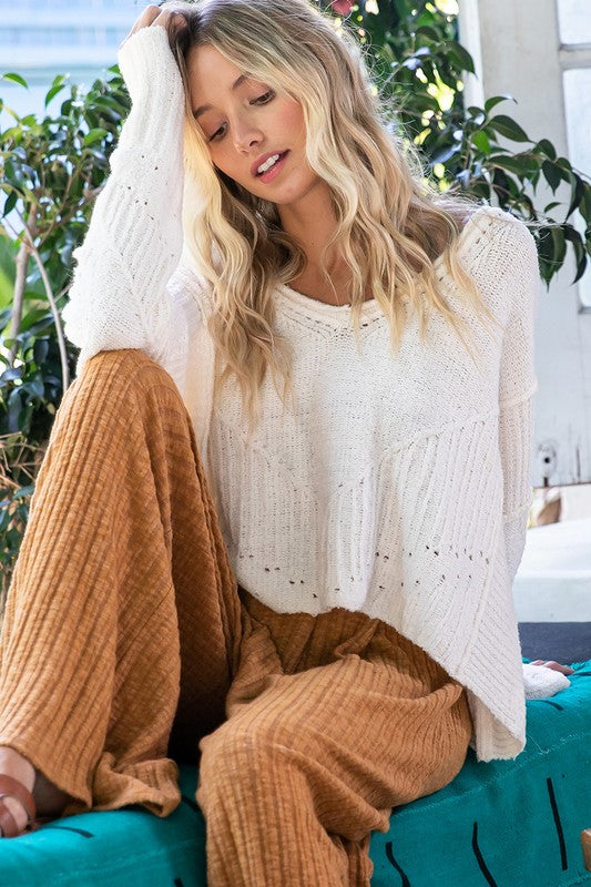 Wide Open Spaces Sweater