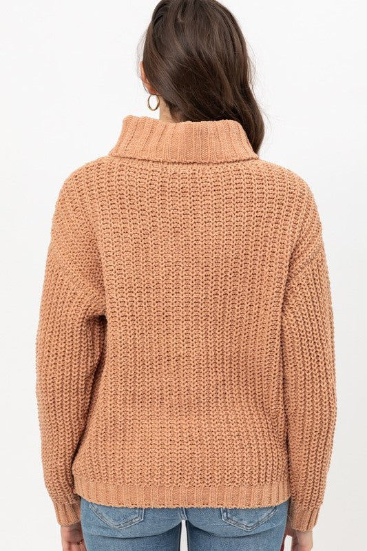 Refresh Knit Sweater Clay