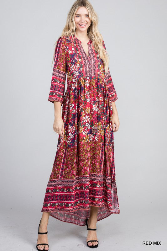 Just To See You Smile Maxi Dress
