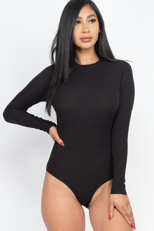 See You Again Bodysuit Black
