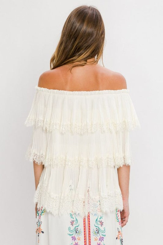 True Bliss Tiered Blouse