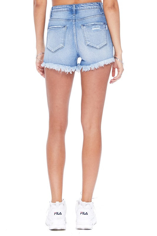 On The Rise Denim Shorts