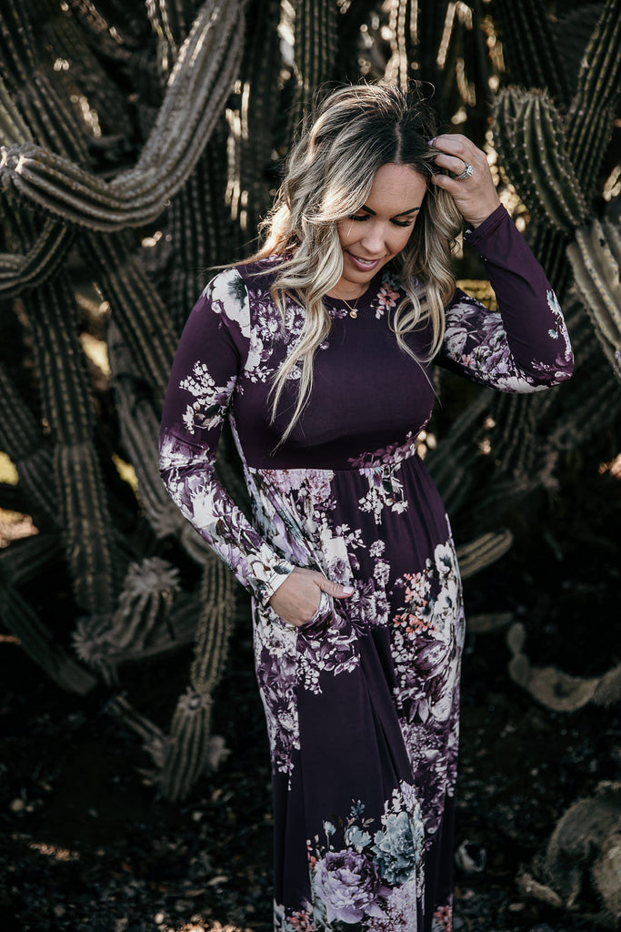 Kind Hearted Floral Maxi